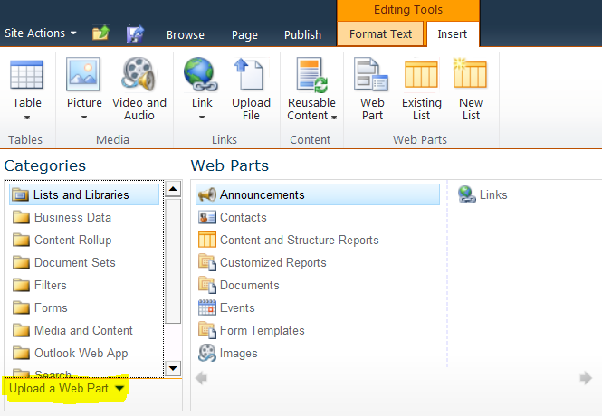 Importing Web Parts in SharePoint Online | Chirag Patel @techChirag