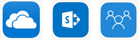 which microsoft app sharepoint office 365 groups or onedrive