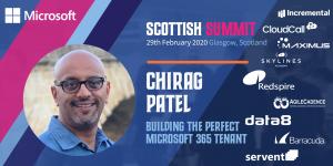 Chirag Patel techchirag scottish summit 2020
