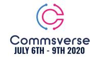 Commsverse Online 2020 Speaker